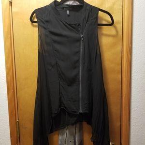 Eileen Fisher Asymmetrical Vest